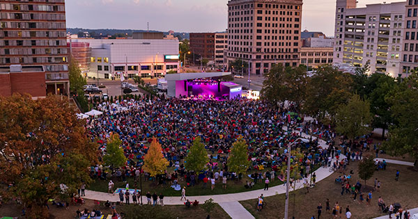 Live music is back at the Levitt Dayton this Saturday