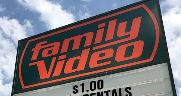 Family Video Store Liquidation Sale in Huber Heights