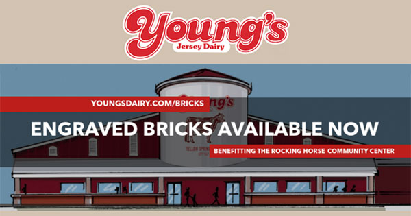 Reserve a brick at the new Young's Dairy Store