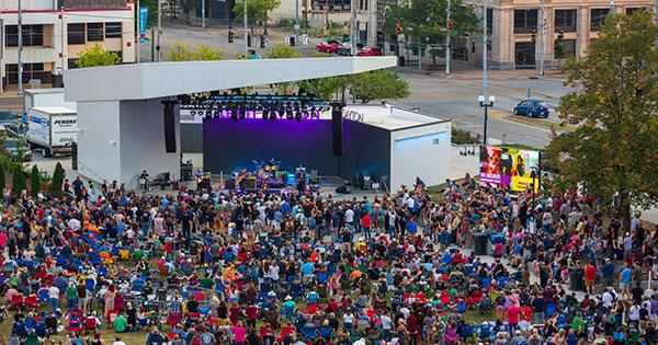 Live Music is back!  Levitt Dayton announces 2021 Concert Season