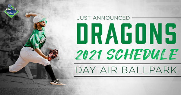 Dayton Dragons Announce 2021 Opening Day, Season Schedule