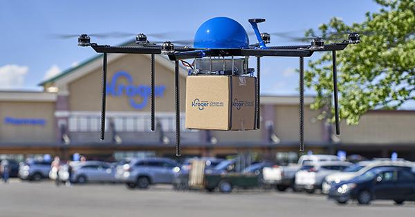 Kroger begins testing drone deliveries in Centerville