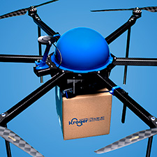 Kroger begins testing drone deliveries in Centerville