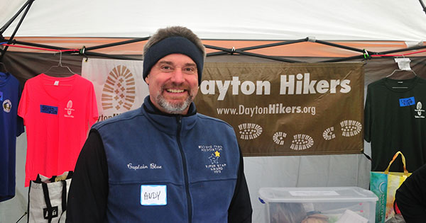Andy Niekamp of Dayton Hikers will receive the statewide OPRA Outstanding Citizen Award