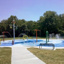 Thomas A. Cloud Park Splash Pad