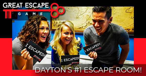 Great Escape Game: Dayton's #1 Escape Room!