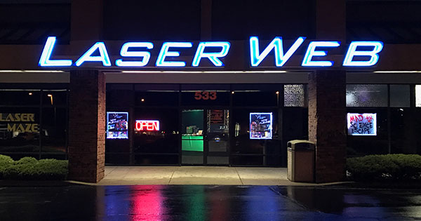 Laser Web Is Daytons Premier Tag Facility Also A Maze Virtual Reality Arcade And Snack Bar Birthday Parties Group Events Or Just Great