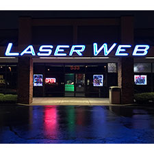 JDRF Fundraiser at Laser Web