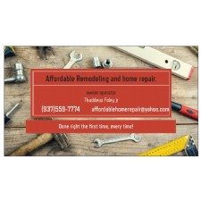 affordable remodeling and home repair