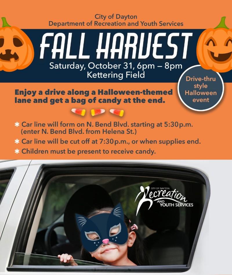 Dayton Halloween 2020 Dayton Fall Harvest Festival 2020 Drive Thru
