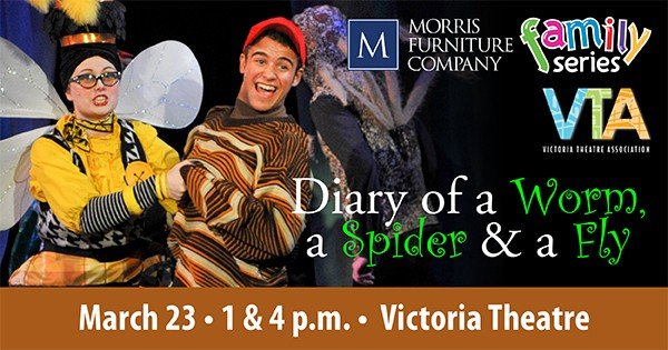 Diary Of A Worm, A Spider & A Fly