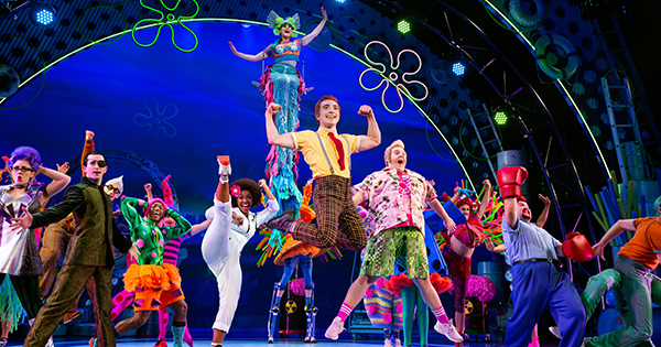 SpongeBob: The Musical now through this weekend at The Schuster