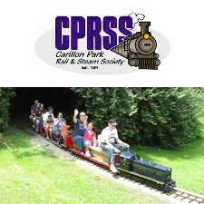 Train Rides at Carillon Park Railroad - suspended