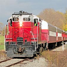 Fall Harvest Flyer at LM&M Railroad