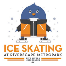 New Year's Day Skate at Riverscape
