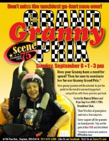 Scene75s Granny Grand Prix Go Kart Race