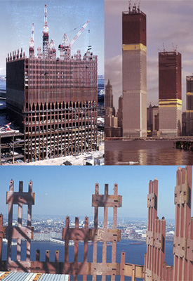 Construction of the World Trade Center Twin Towers