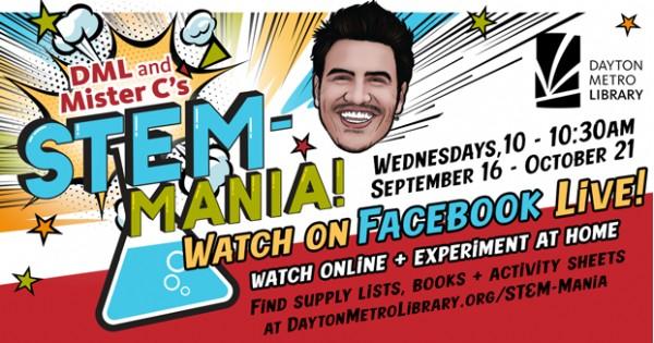 Mister C's STEM-Mania on Facebook Live