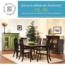 Good Handcrafted Amish Furniture Anniversary Sale!